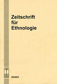 CoverZeitschrift für Ethnologie